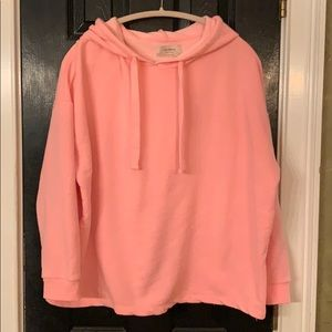 Pull & Bear pink hoodie size Large